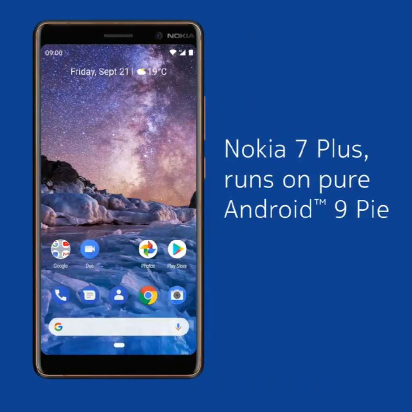 Nokia 7 Plus Android 9 Pie Header