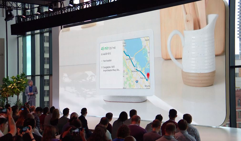 Google Home Hub vorgestellt