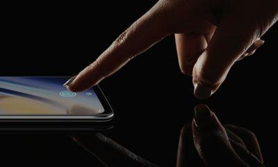 OnePlus 6T Fingerabdrucksensor im Display Header