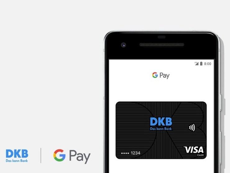 DKB Google Pay