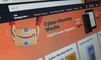 Amazon Cyber Monday Woche 2018 Header
