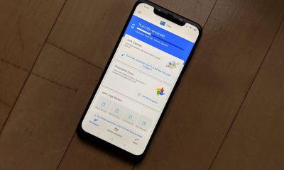 Google Files App Header