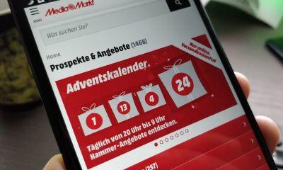 MediaMarkt Weihnachtskalender Header
