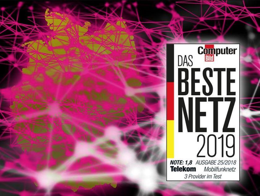 Telekom bestes Netz 2018 2019