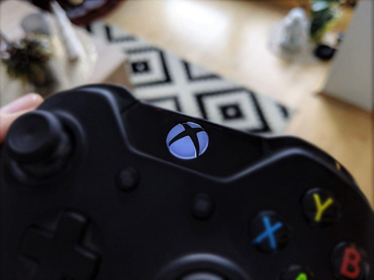 Microsoft Xbox header