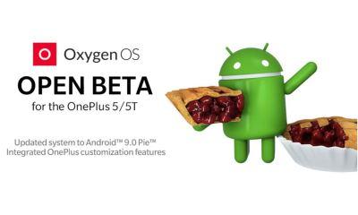 Open Beta OnePlus 5 Android 9 Pie