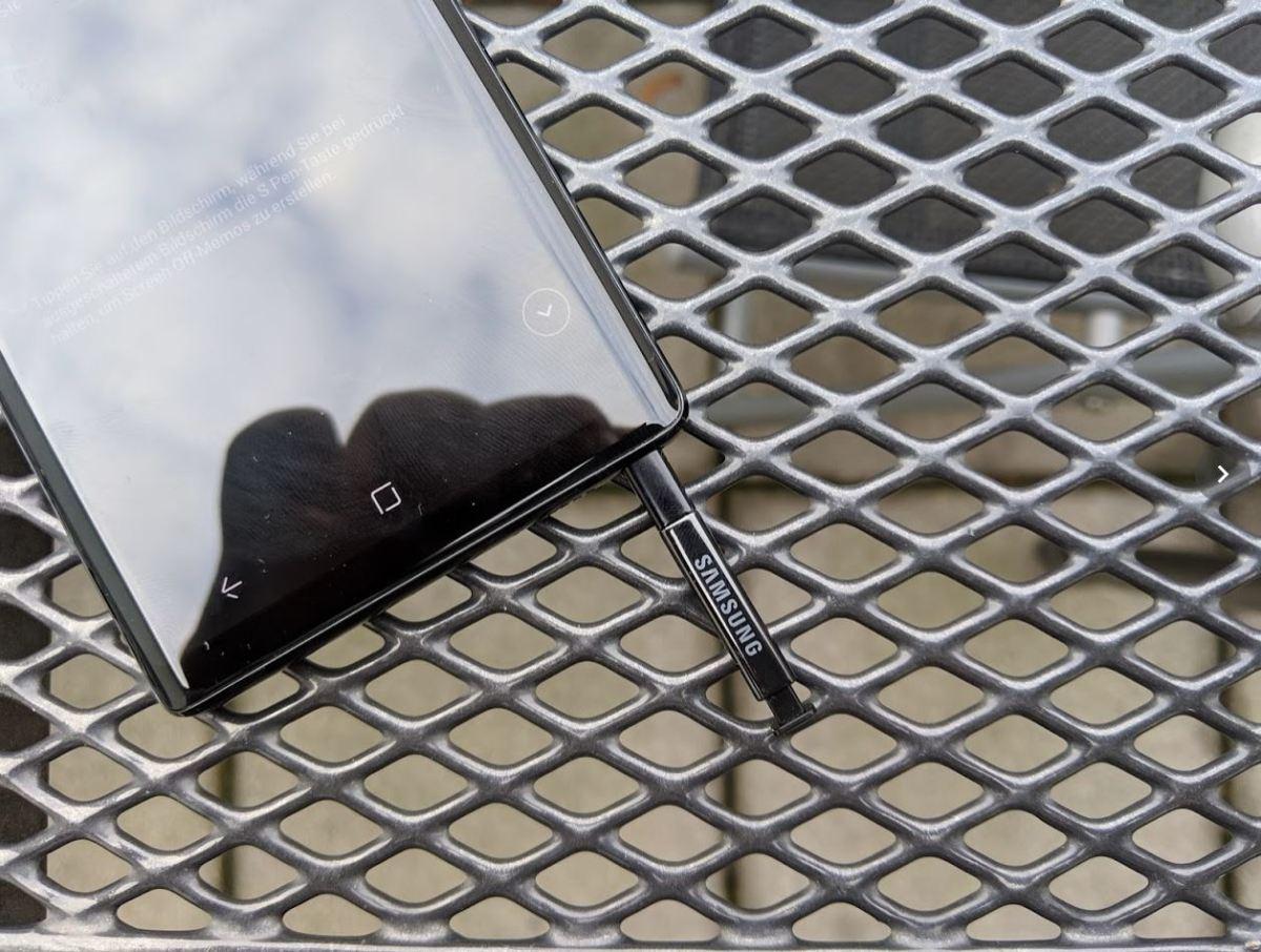 Samsung Galaxy Note9 Test