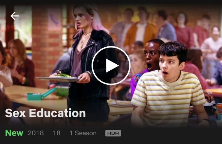 Netflix Pixel 3 HDR