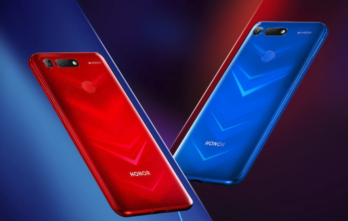 Honor View 20 Header