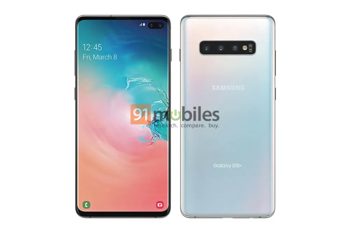 Samsung Galaxy S10 Plus Press Leak