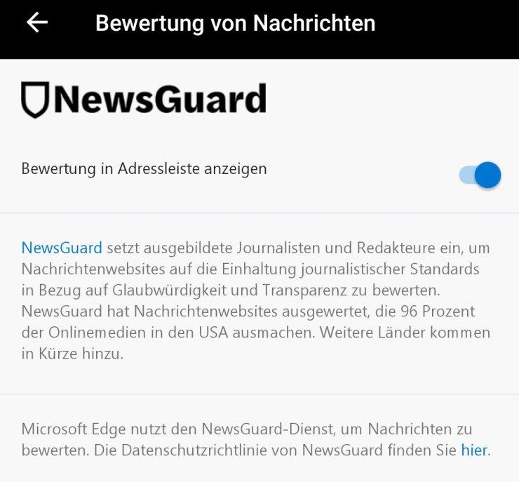 Edge NewsGuard
