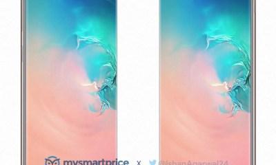 Samnsung Galaxy S10+ Weiß Leak