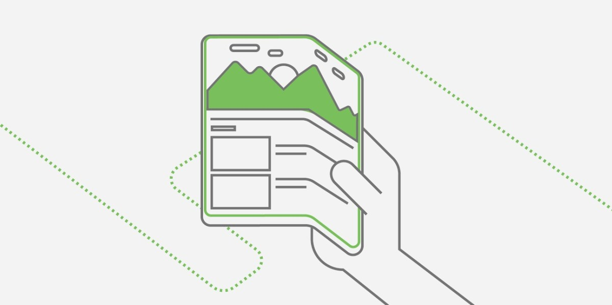 Googles Idee vom Falt-Smartphone