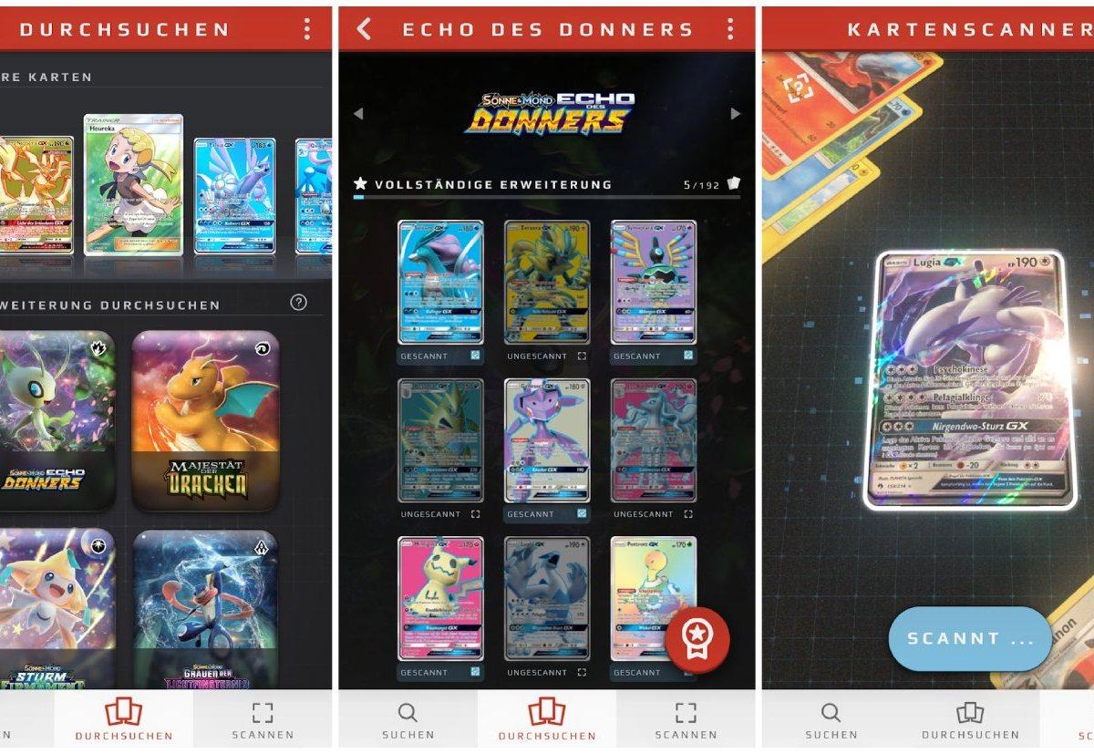 Kartendex Pokemon