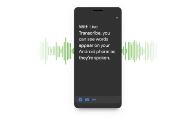 Live Transcribe Google Header