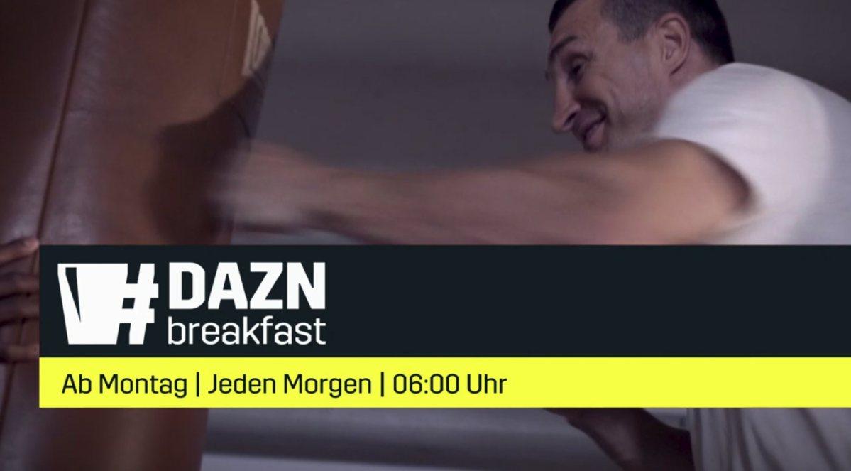 DAZN Breakfast: Die sportliche Alternative zum Frühstücksfernsehen