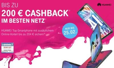 Telekom Huawei Cashback 2019