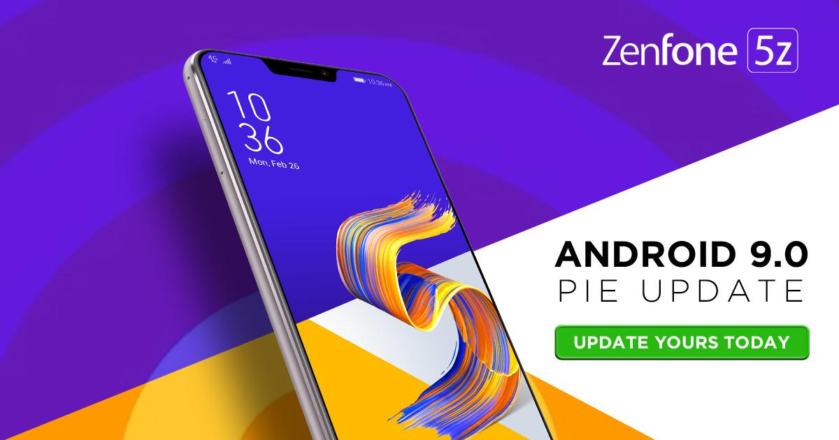 zenfone 5z pie update