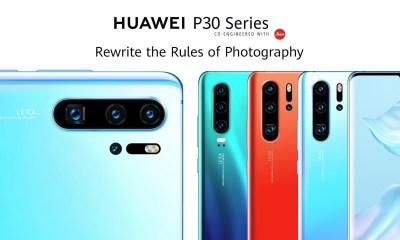 Huawei P30 Header