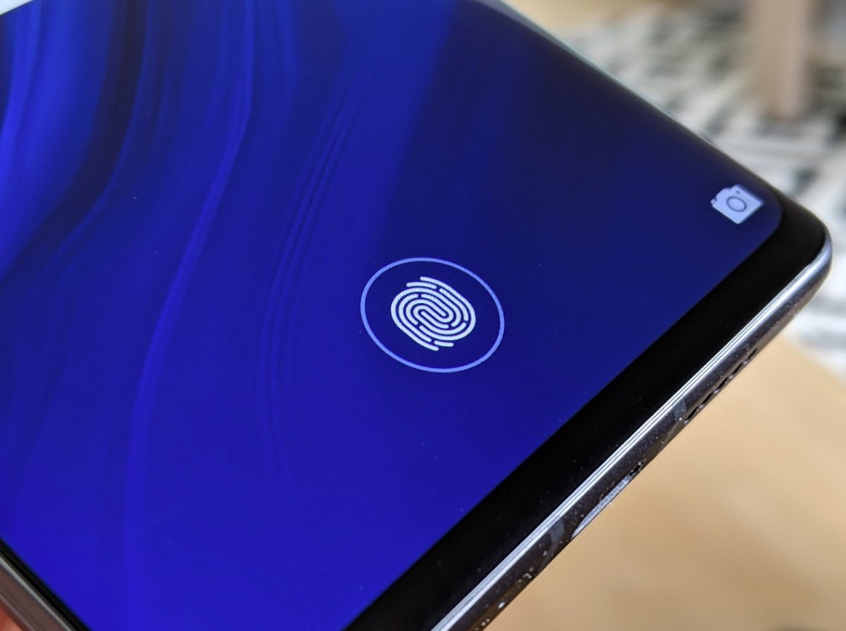 Huawei P30 Pro Test Fingerabdrucksensor im Display Header