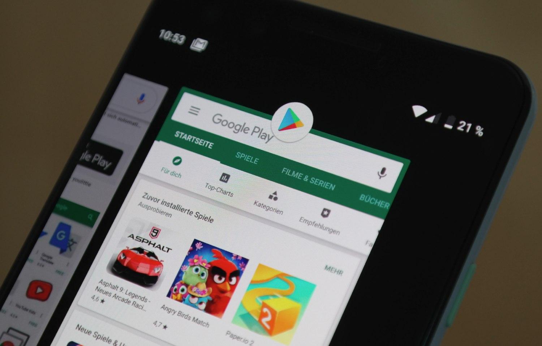 Google Play Store: Hinweise vor Apps, die andere Apps aus unbekannten Quellen installieren können