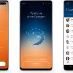 Satellite Android App Header