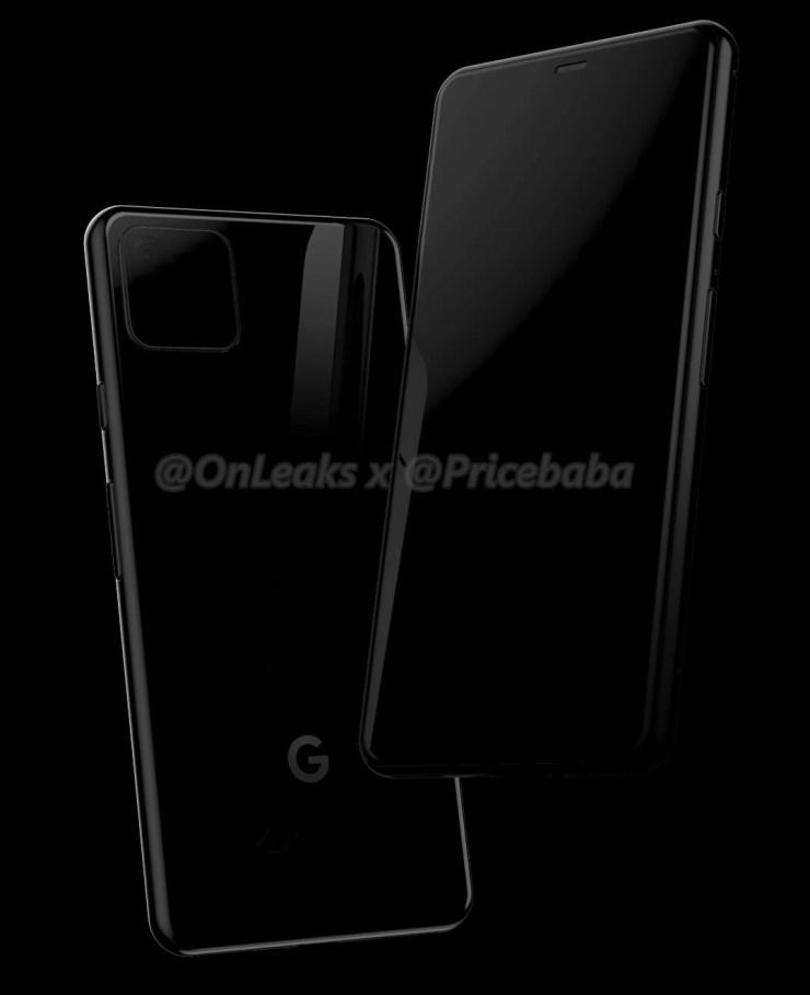 Google Pixel 4 Onleaks