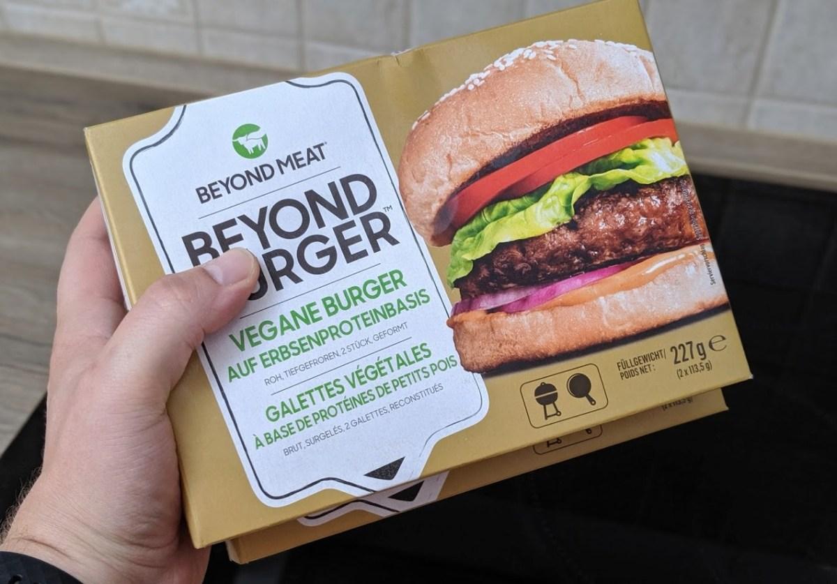 Beyond Meat Burger Test