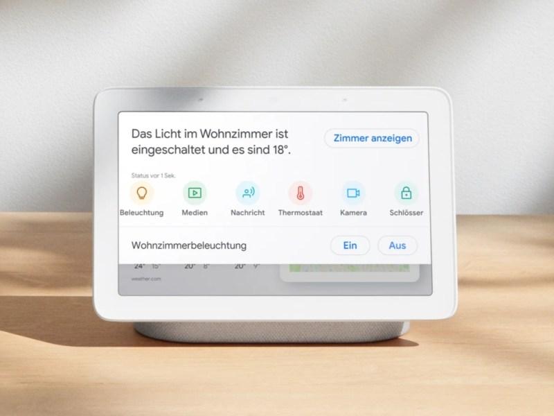 Google Nest Hub Max Header