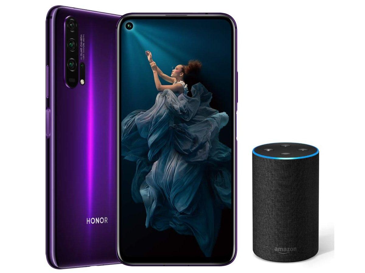 Honor 20 Pro Amazon Echo