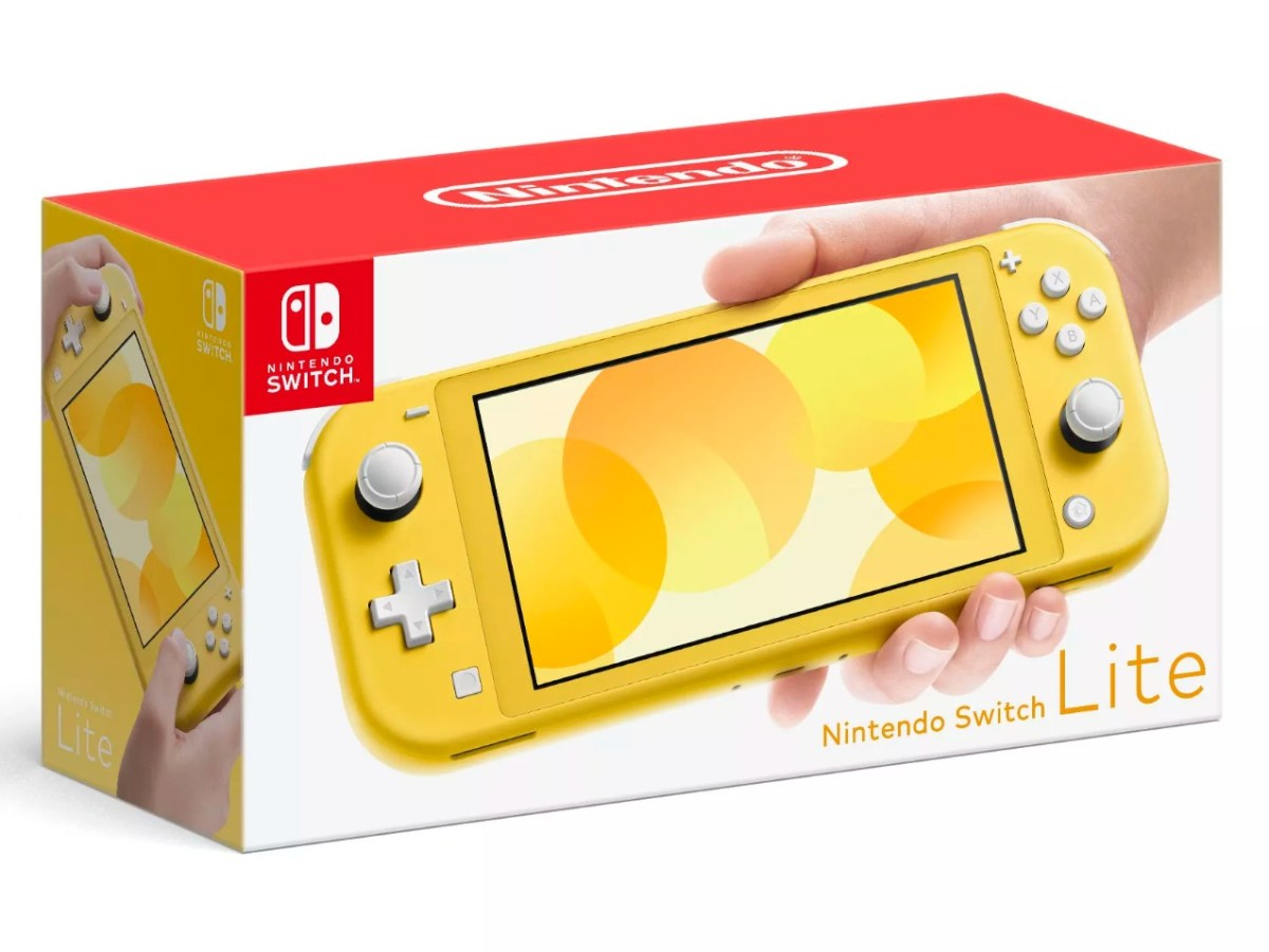 Nintendo Switch Lite HEader