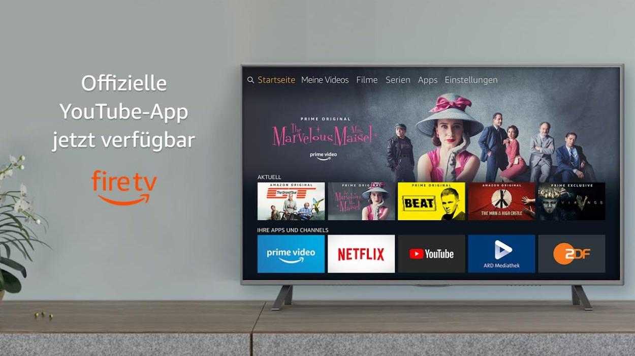 YouTube jetzt auf älteren Fire TV-Modellen verfügbar