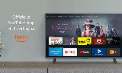 YouTube App Fire TV Header
