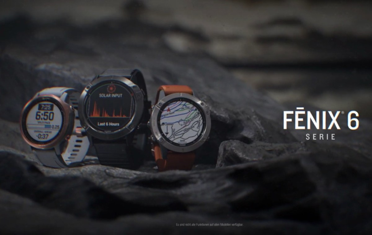 Fenix 6 Serie Header