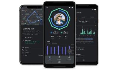 Google Fit Dark Mode