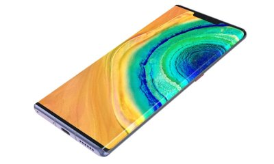 Huawei Mate 30 Pro grenzenloses Display Header