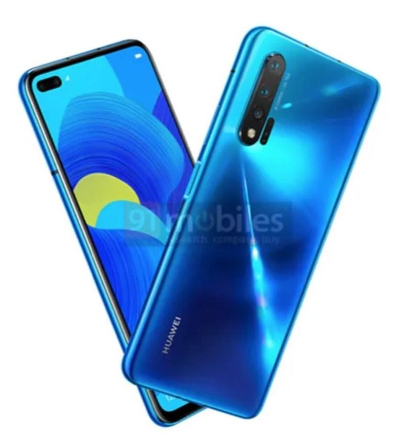 Huawei Nova 6 5G Leak