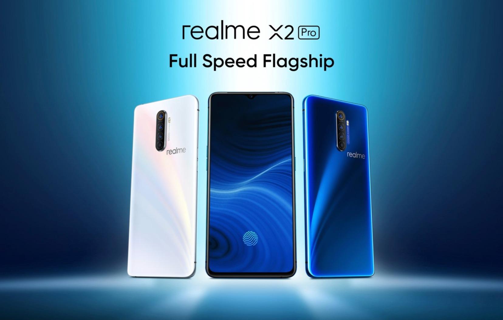 Realme X2 Pro greift Highend-Konkurrenz an: 90 Hz Display, 855+, 50 Watt Schnellladen