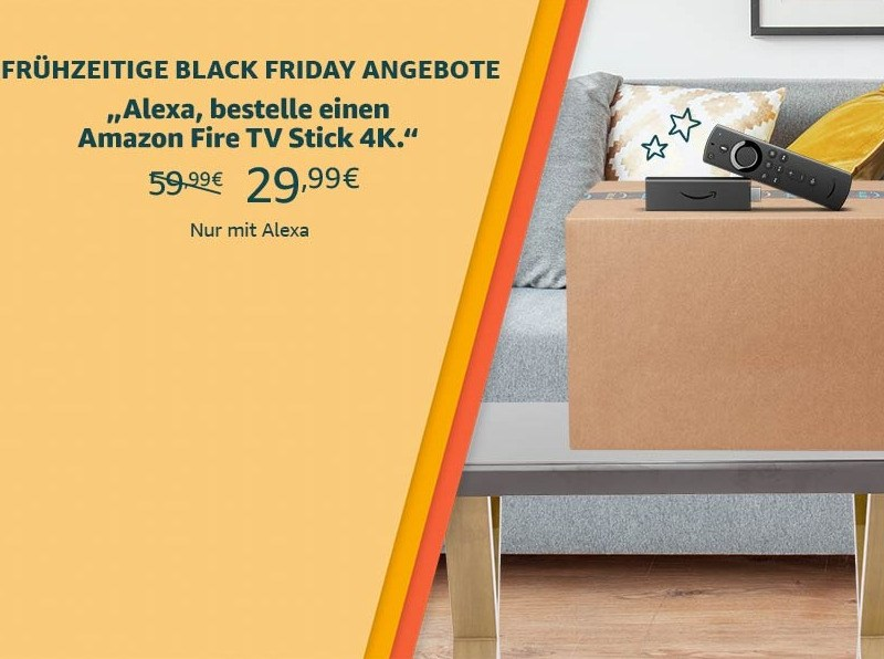 Amazon Fire TV Stick Black Friday 30 Euro