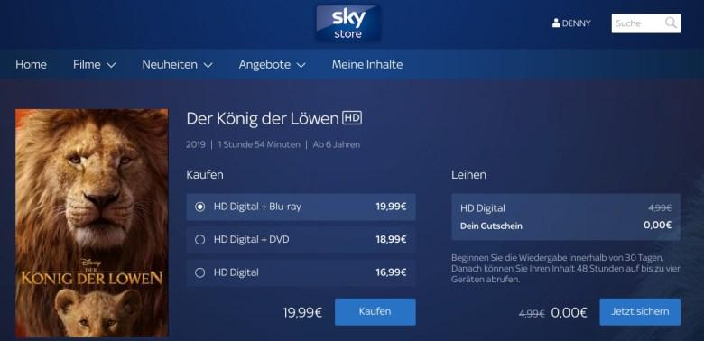 Sky Store Screenshot