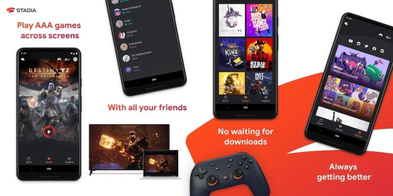 Stadia Smartphone App