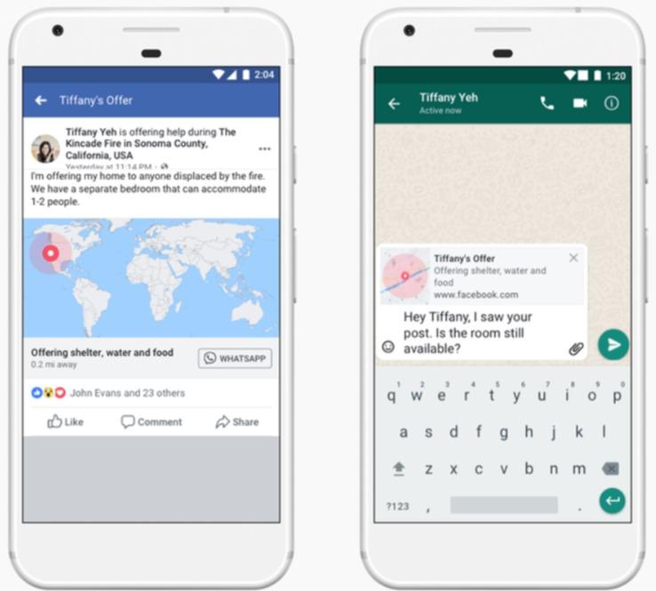 Facebook Krisen Crisis Response WhatsApp