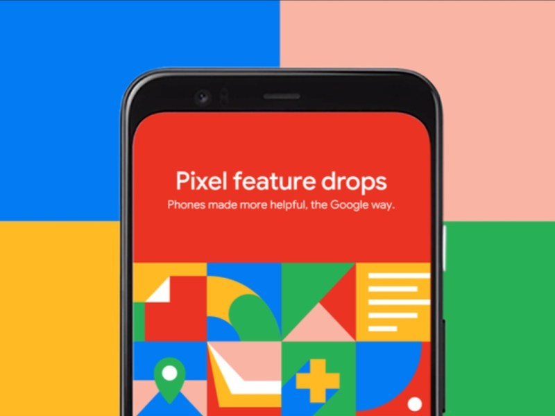 Google Pixel Feature Drop Head