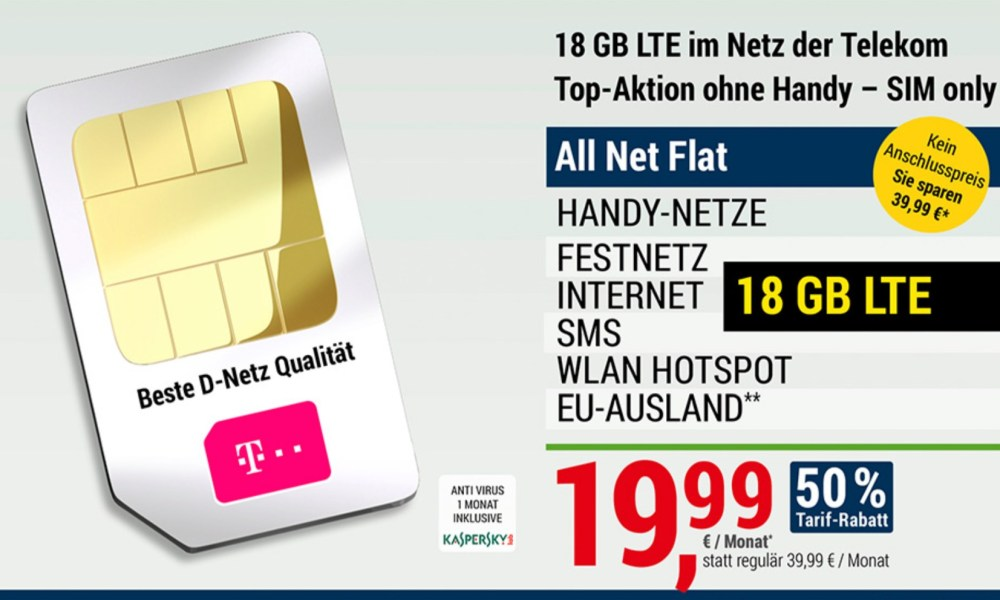 Adac Mobilcom Tarifaktion Telekom Allnet Flat 1999