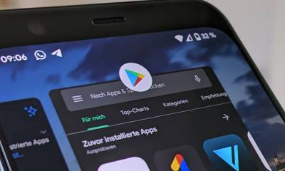 Google Play Store Header Titelbild
