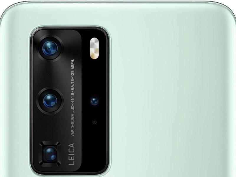 Huawei P40 Pro Kamera Mintgrün