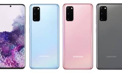 Samsung Galaxy S20 Farben Leak