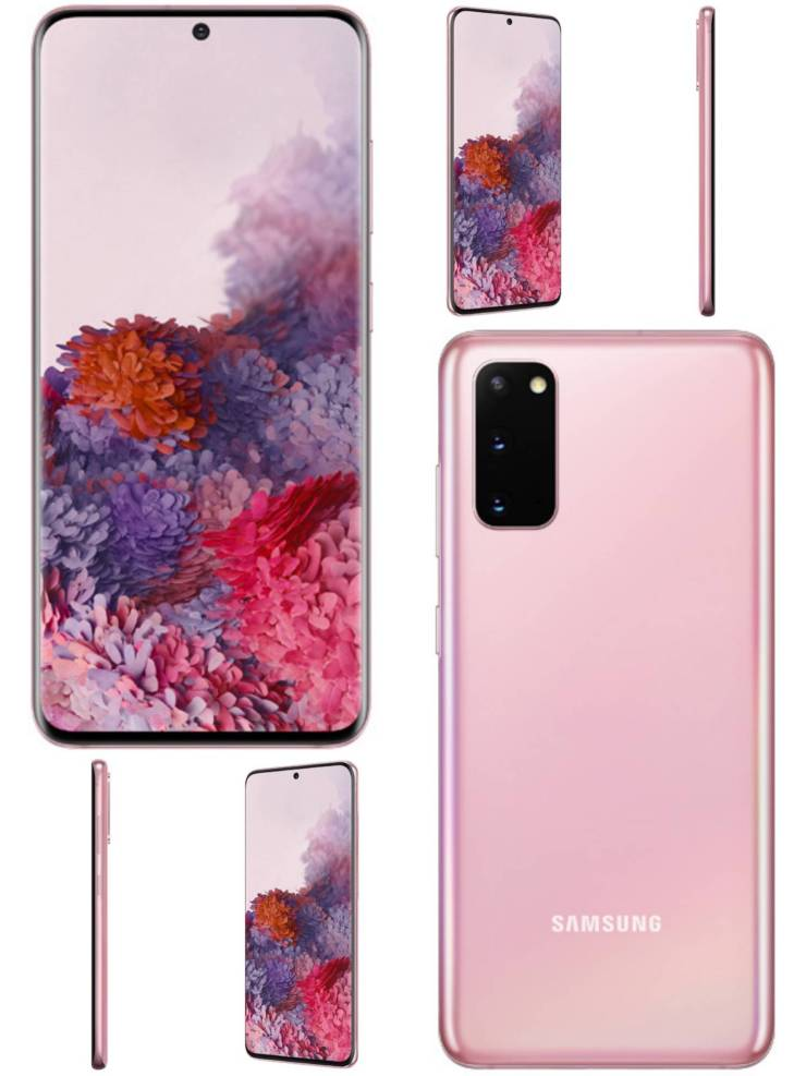 Samsung Galaxy S20 Rosa
