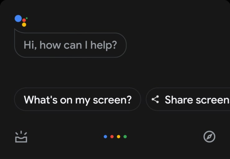 Google Assistant Whats On My Screen Comeback Screenshot