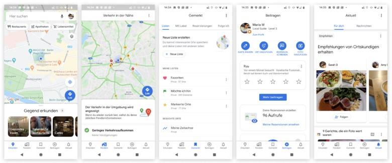 Google Maps App Redesign 2020